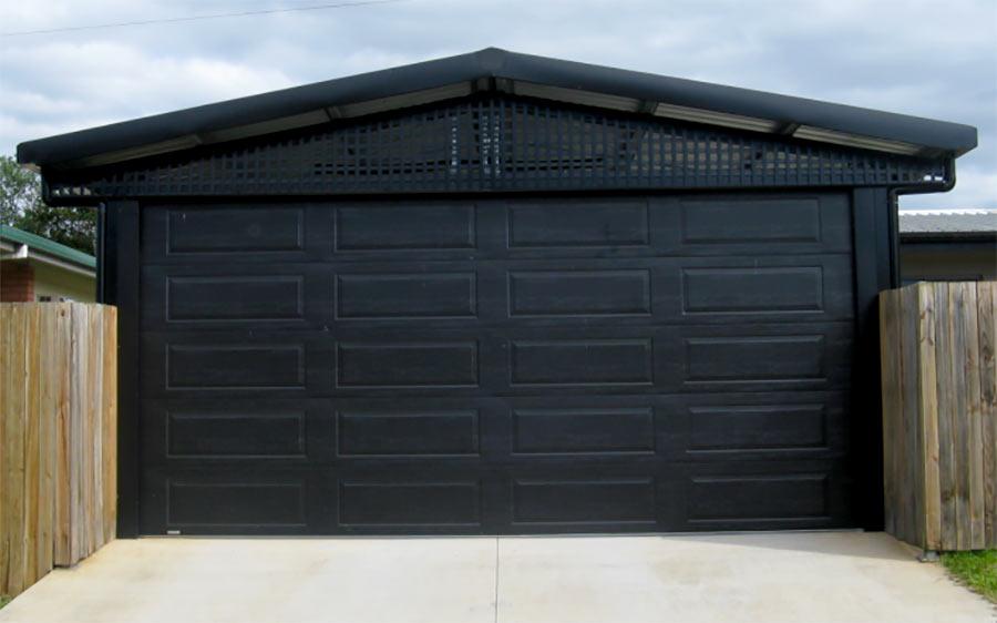 Gable carport lattice nq sheds and patios for Trellis carport